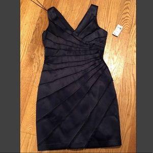 Chetta B navy blue cocktail dress